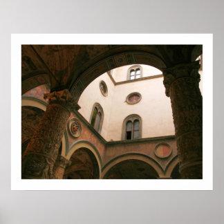 Palazzo Vecchio Courtyard Poster