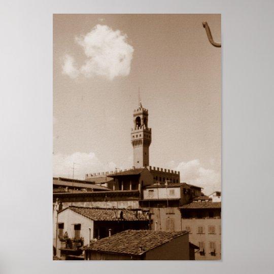 Palazzo Vecchio Poster