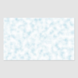 Pale Blue and White Abstract Clouds Pattern Sticker