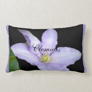 Pale Blue Clematis Pillows