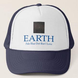 PALE BLUE DOT HAT