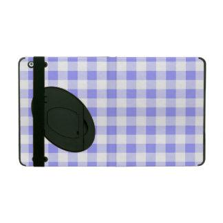 Pale Blue Gingham iPad Folio Case