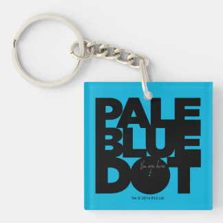 Pale Blue Keychain