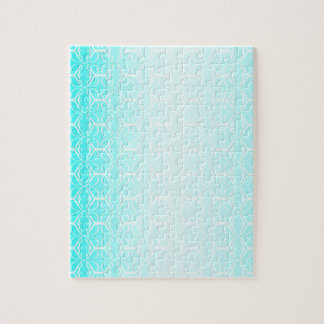 Pale Blue Linked Background Puzzle