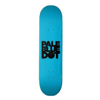 Pale Blue Skate Board
