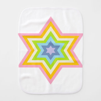 Pale Burst™ Baby Burp Cloth