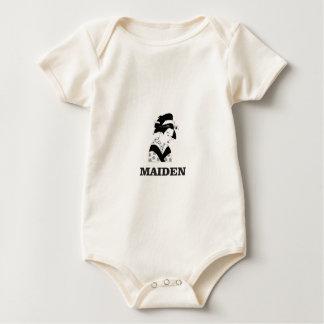 pale fair maiden baby bodysuit