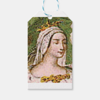 pale fair queen gift tags