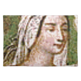 pale fair queen placemat