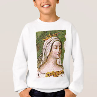 pale fair queen sweatshirt