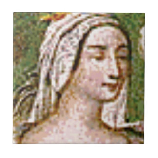 pale fair queen tile
