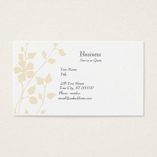 Pale Floral Extravaganza Soft Pastel Business Card