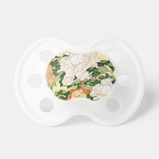 Pale Flowers Baby Pacifier