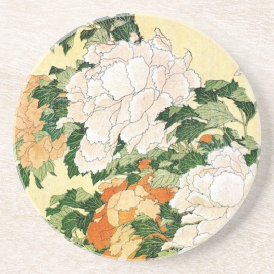 Pale Flowers Beverage Coasters