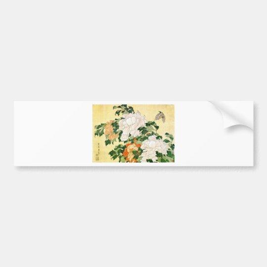 Pale Flowers Bumper Sticker