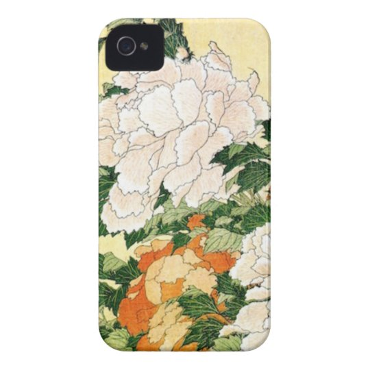 Pale Flowers Case-Mate iPhone 4 Cases