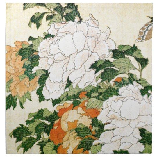 Pale Flowers Cloth Napkin