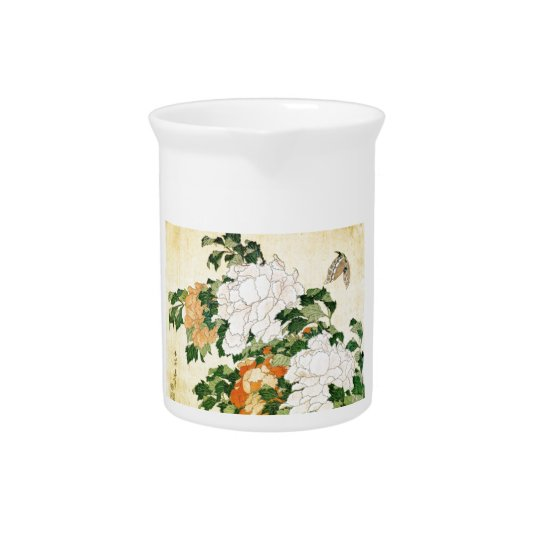 Pale Flowers Drink Pitchers