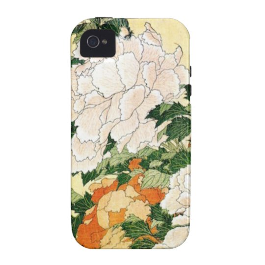 Pale Flowers iPhone 4 Case