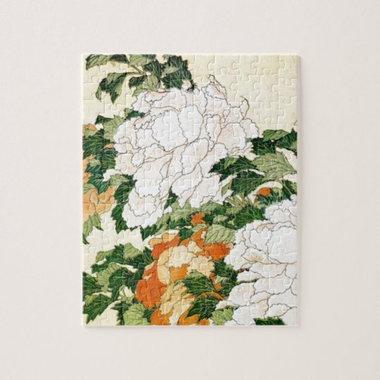 Pale Flowers Jigsaw Puzzle