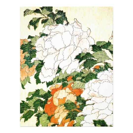 Pale Flowers Letterhead