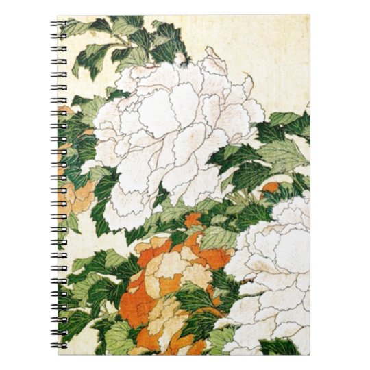 Pale Flowers Notebooks