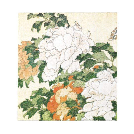 Pale Flowers Notepad