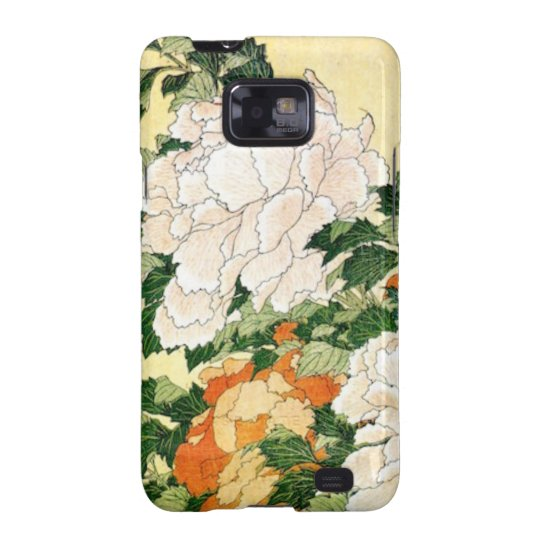 Pale Flowers Samsung Galaxy SII Cover