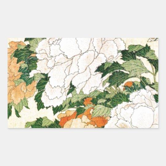 Pale Flowers Sticker