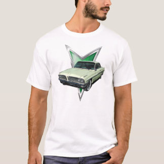 Pale green 1961 Pontiac Ventura in frontal3/4 view T-Shirt