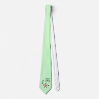 Pale Green Trust Me... I'm a Science Teacher Tie