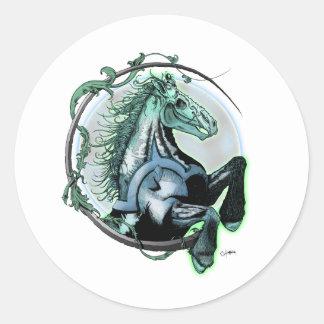 Pale Horse Classic Round Sticker