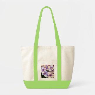 Pale Lavender Violets Tote Bag