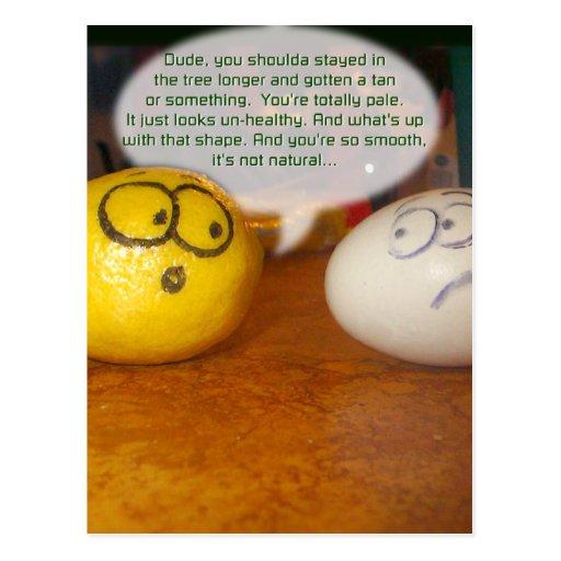 Pale Lemon Post Card