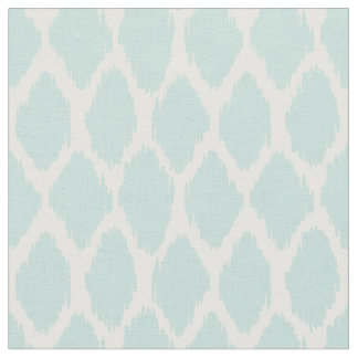 Pale Mint Green Ogee Pattern Fabric