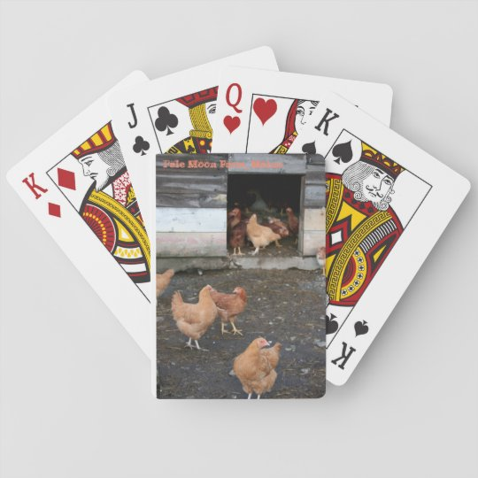 Pale Moon Farm Chicken Playing Cards