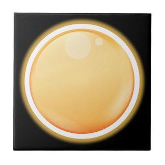 Pale Orange Ceramic Tile
