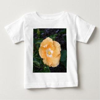 Pale orange hibiscus flower baby T-Shirt