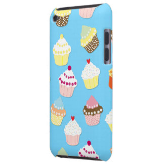 Pale Pastel Blue Cup Cakes Barely There iPod Case