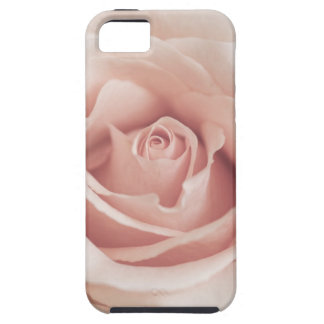 Pale Peach Antique Rose Background Customized Case For The iPhone 5