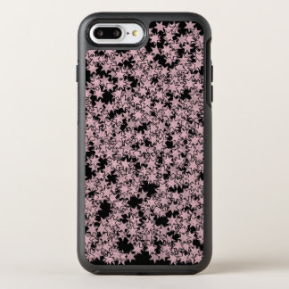 Pale Pink and Black Stars Kawaii Punk OtterBox Symmetry iPhone 8 Plus/7 Plus Case