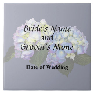 Pale Pink and Blue Hydrangeas Wedding Products Tile