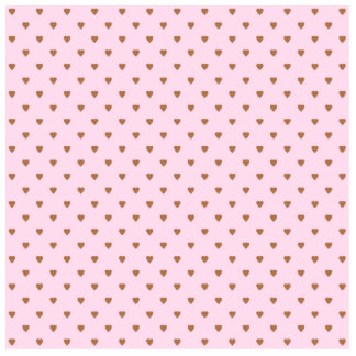 Pale pink and brown heart pattern photo cutout