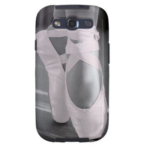 Pale Pink Ballet Shoes Samsung Galaxy S3 Cover