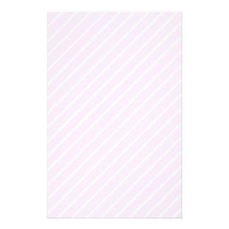 Pale pink Diagonal Stripes. Full Color Flyer