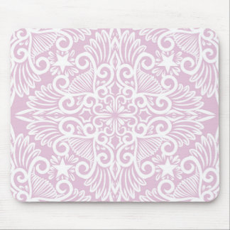 Pale pink Dream root Mouse Pad