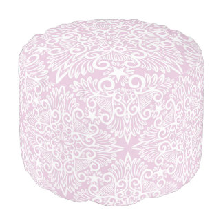 Pale pink Dream root Pouf