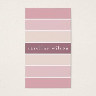 Pale pink feminine minimalist elegant modern card