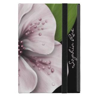 Pale Pink Flower iPad Mini Case
