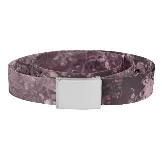 Pale Pink Grunge Collage Belt